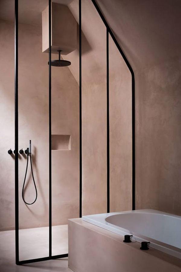 Decoração no banheiro, Banheiro cor de cosa, Banheiro rosa
