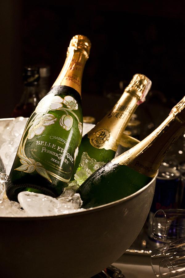 Dicas para servir champagne, Perrier Jouet
